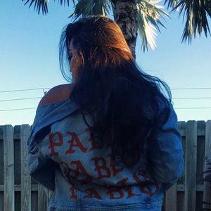 Jackets & Blazers - CUSTOM KANYE WEST PABLO DENIM OVERSIZED JACKET
